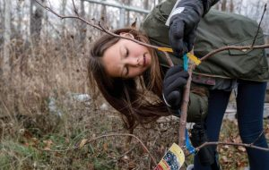 Eleven-year-old Zoe in Chippewas of Nawash Unceded First Nation