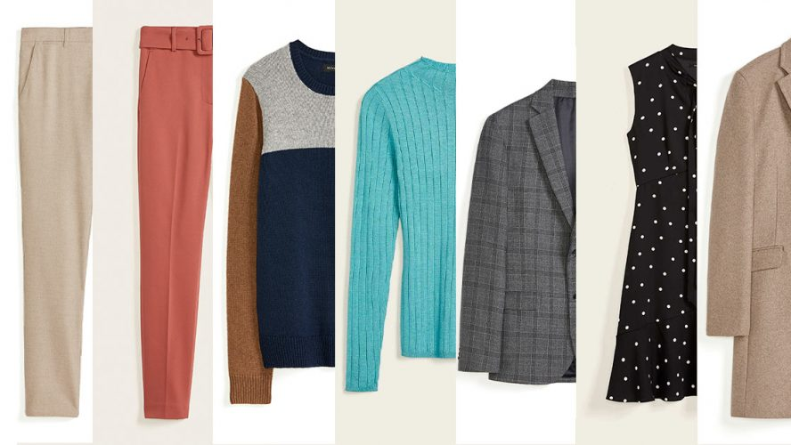 Pieces from the RW&CO Work From Anywear line