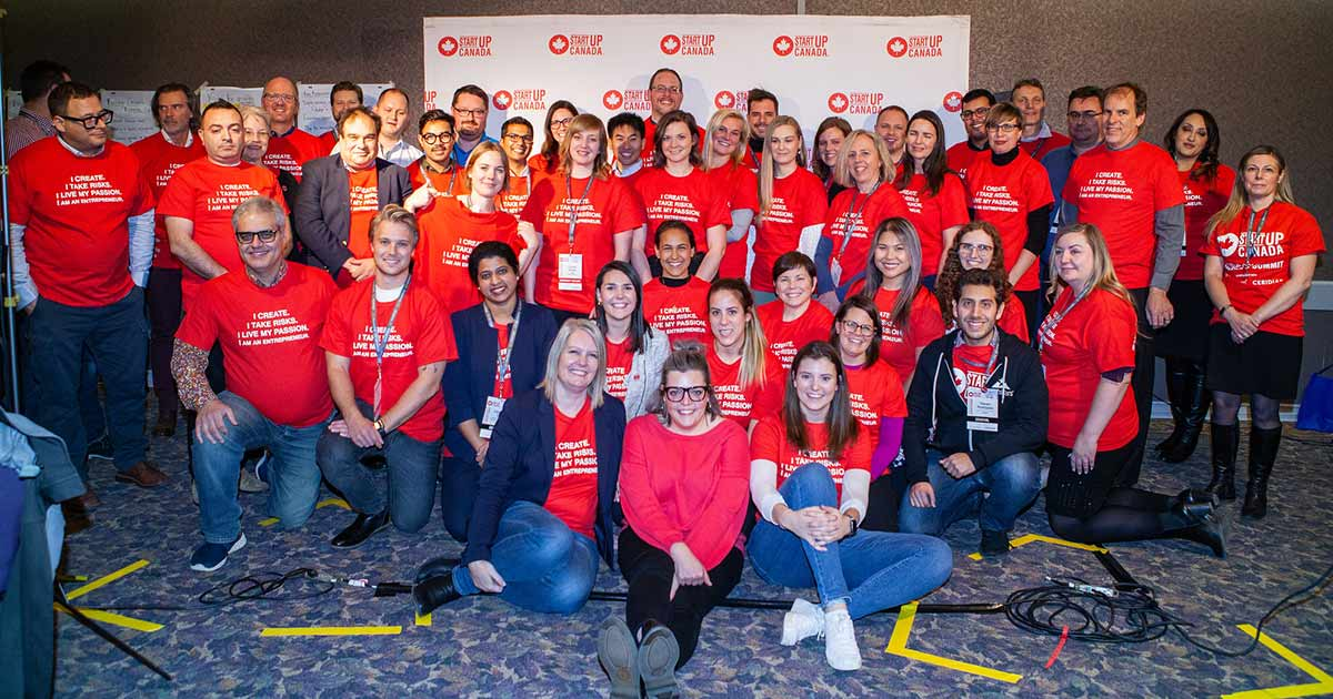 Startup Canada group photo