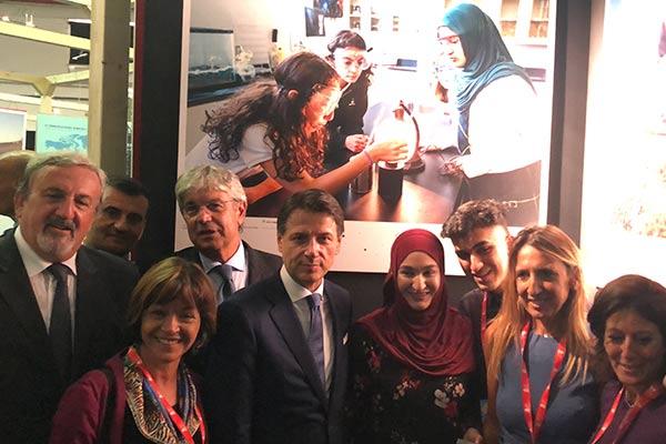Zainab Azim group photo
