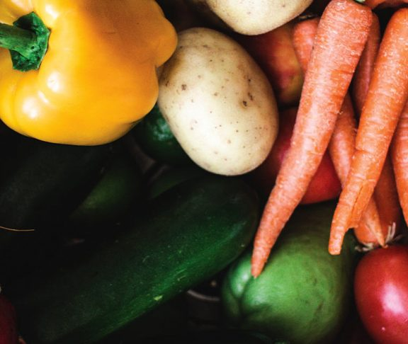 A variety of Ontario-grown produce
