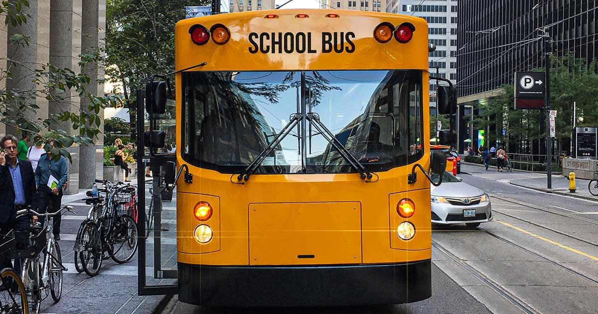 BEAST is GreenPower Motor Company's electric school bus