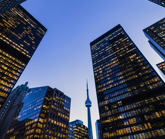 Toronto-financial-district-skyline