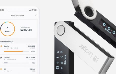 Cryptocurrency wallet by Ledger