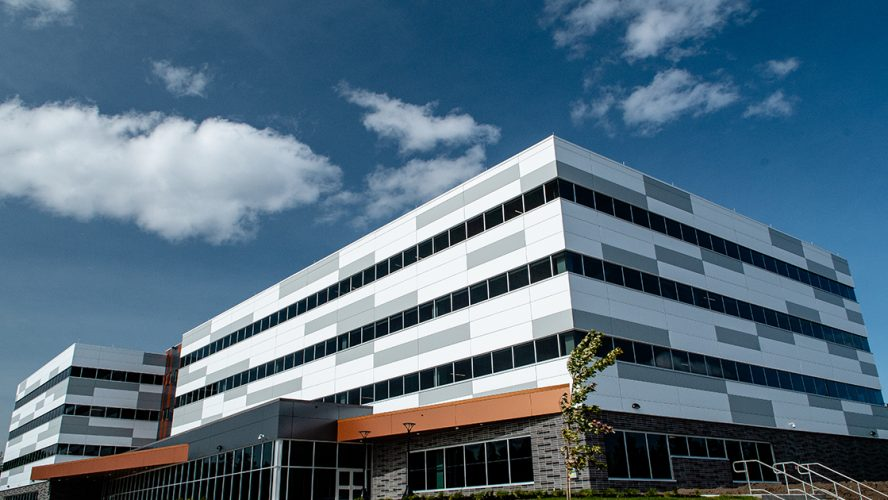 Cyber Centre as located in Knowledge Park , in Fredericton NB_exterior