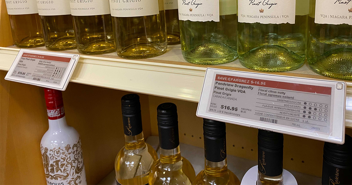 Danavation - LCBO with smart labels