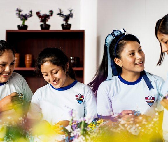 Diverse Female Soccer Team