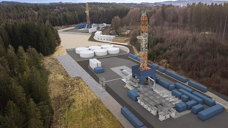 Geothermal energy plant provided by Eavor