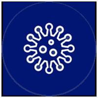 Icon of virus