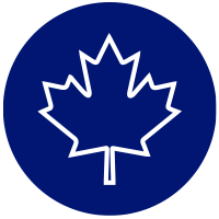 Icon of maple leaf