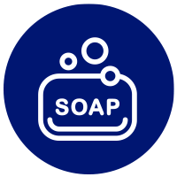 Icon of soap