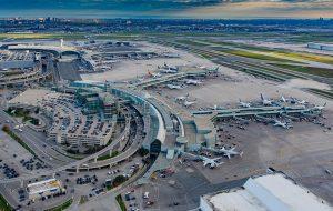 Ariel view of Toronto Pearson