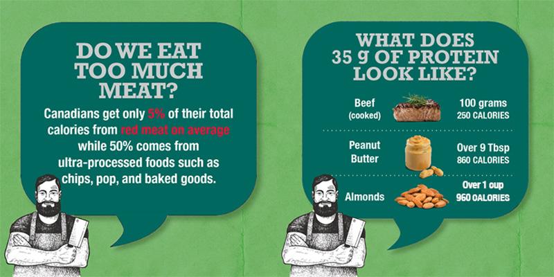 beef butchers infographic