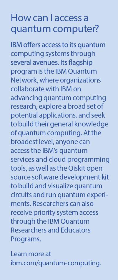 IBM quantum computer updated