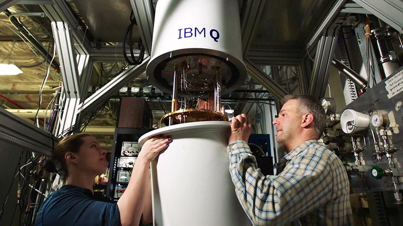 IBM quantum refridgerator