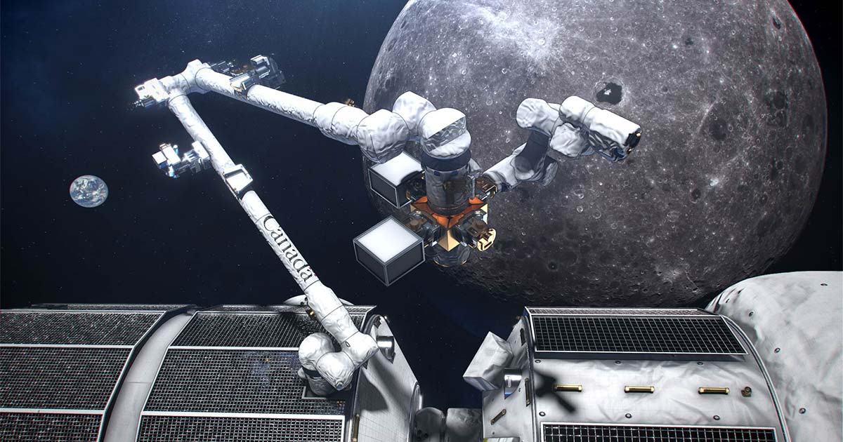 canadarm3 space program