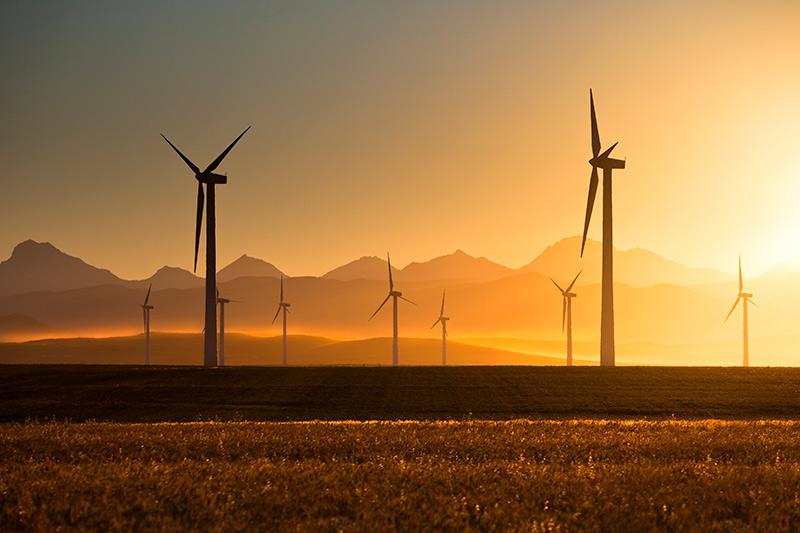 wind turbine dusty