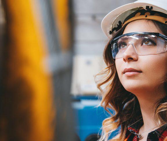 indigenous woman construction STEM