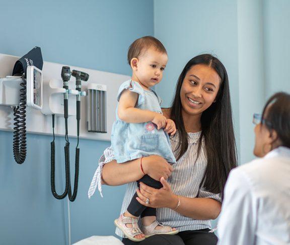 patient baby doctor