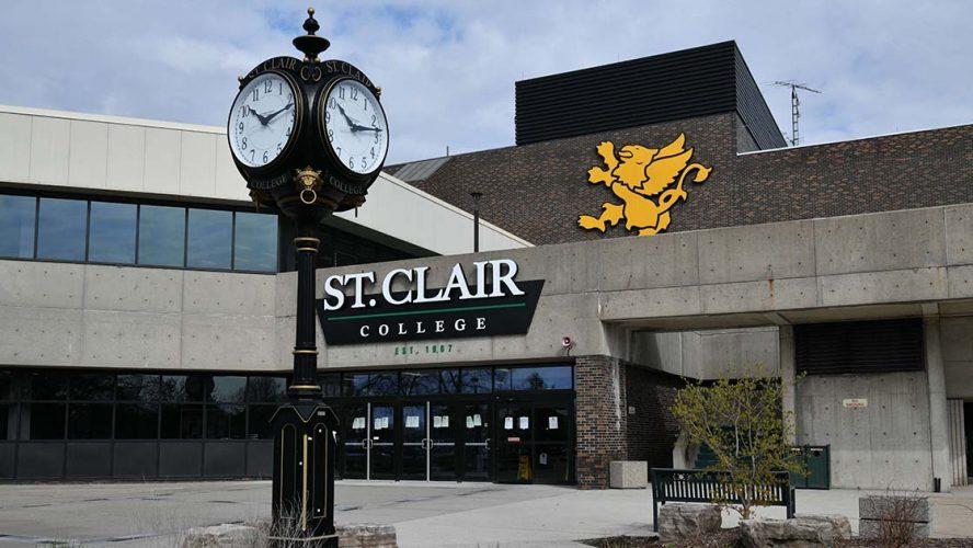 st clair college campus