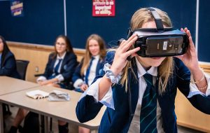 students vr experience appleby