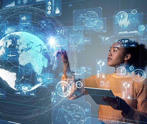 woman digital career
