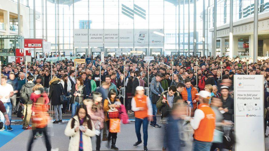 ISPO Munich internationaler Treffpunkt der Sportindustrie