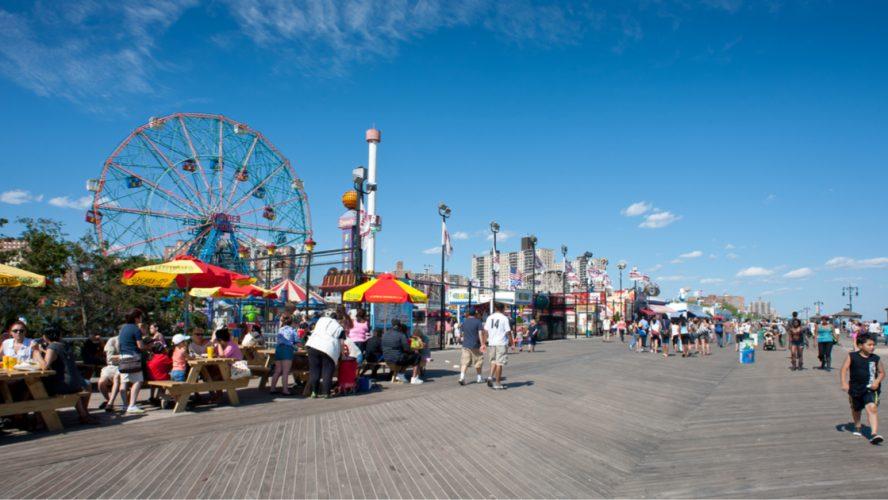 Coney Island - Ein Traumstrand in der Großstadt