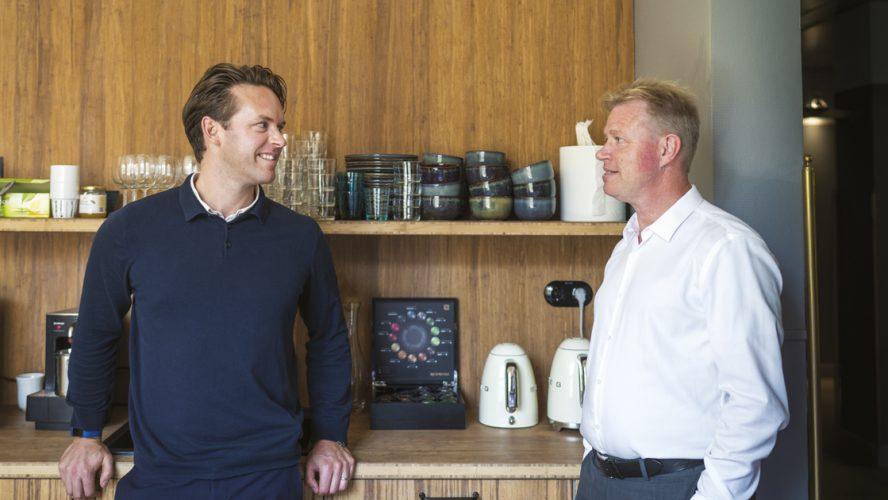 Peder Svartling and Lars Ålund.