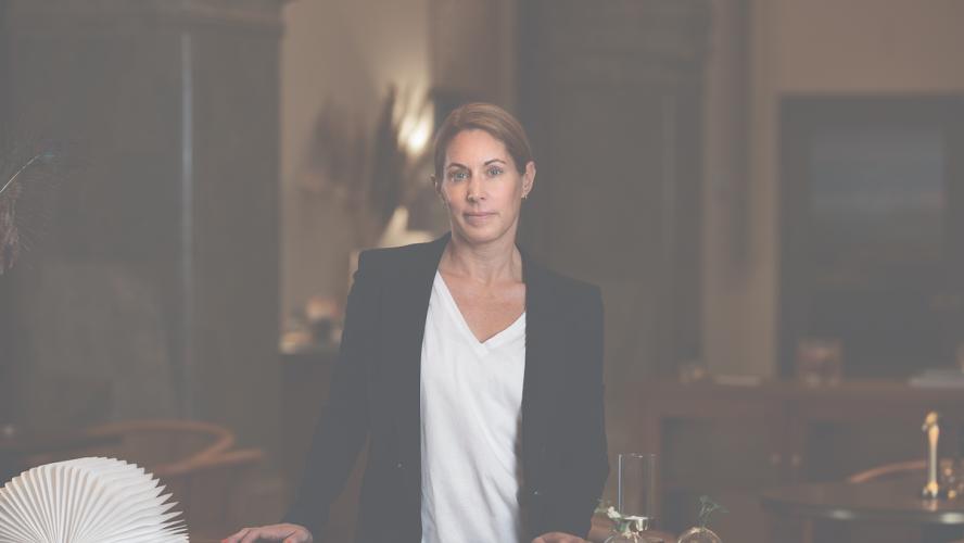 Jenny Stenberg Vd, Fastighetsmäklarförbundet FMF. Foto: Sandra Birgersdotter Ek