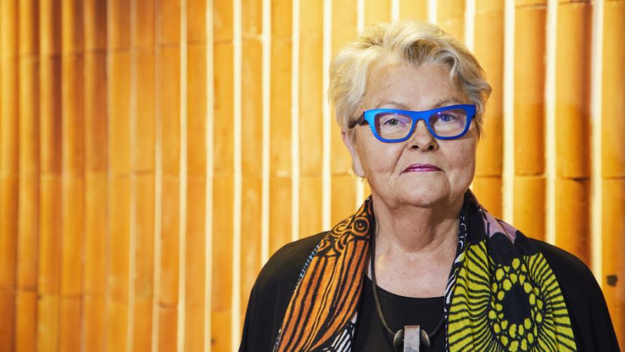Eva Eriksson Förbundsordförande SPF Seniorerna. Foto: Tomas Södergren