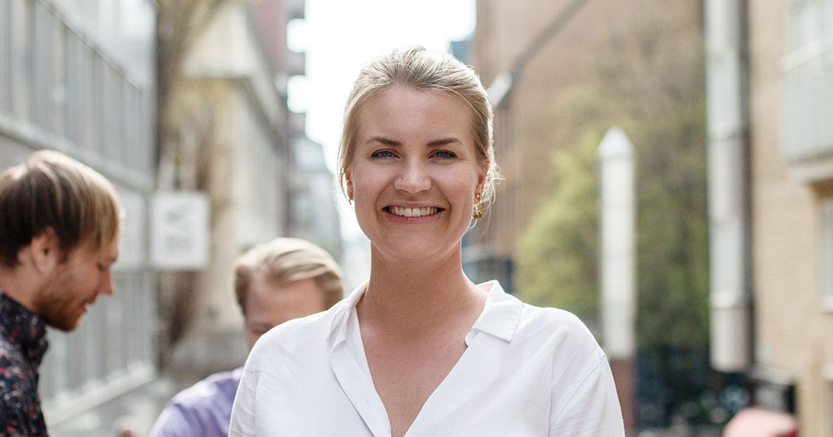 Martina Klingvall talar om vikten av företagskultur på Telness