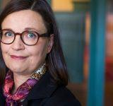 Anna Ekström, utbildningsministern.