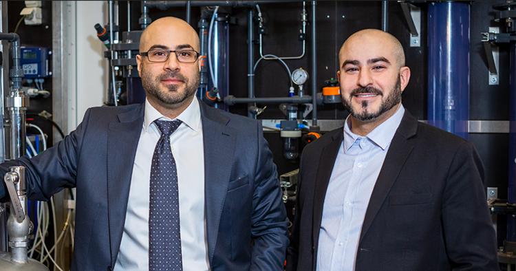 Bröderna Behrang och Behrooz Gilanpour