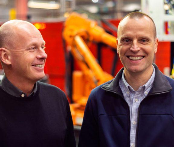Stefan Bergendahl och Anders Brahn.