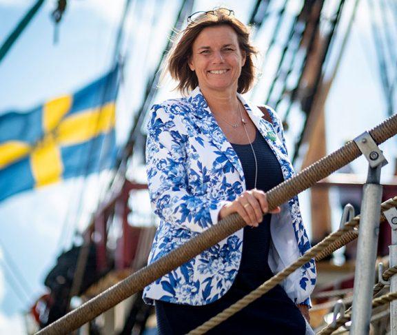 Isabella Lövin förespråkar att havet ska vara rent.
