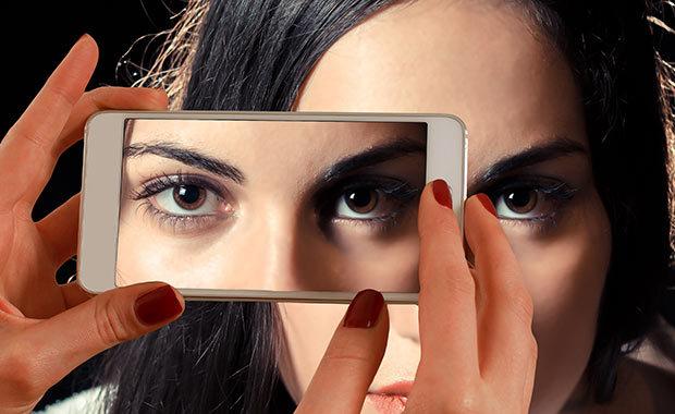 Närbild av ansikte. Foto: Pexel