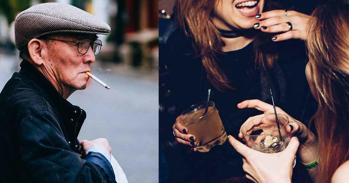 Rökning och alkohol