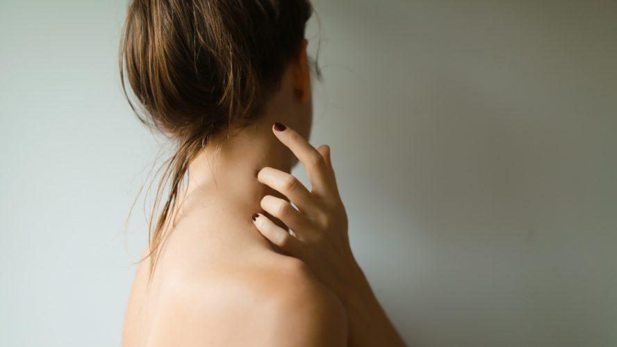 hudvård kvinna