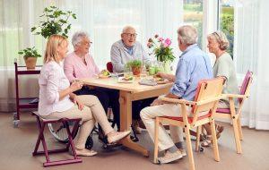 vårdmiljö på äldreboende