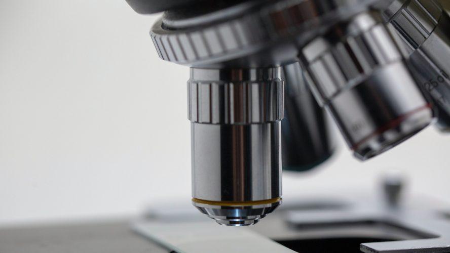 mikroskop läkemedel