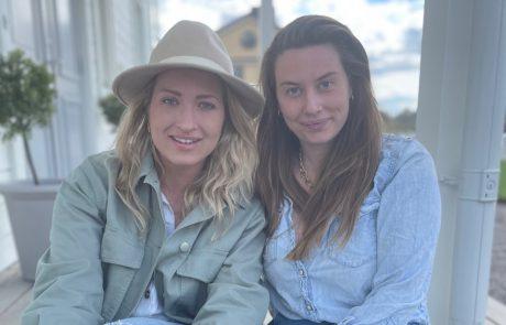 Rosanna Thun och Linnea Taube, grundarna till AVA stories. Foto: Linda Lustig
