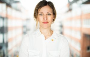 Maja Frankel, Generalsekreterare, Stiftelsen Friends. Foto: Jennifer Söderlund, Friends