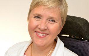 Lisa Lidbäck. Förbundsordförare Neuroförbundet. Foto: Håkan Sjunnesson