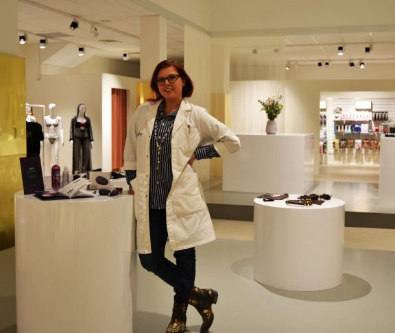 Marie Tunström, sexhjälpmedelsexpert. Foto: Privat.