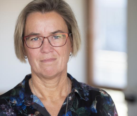 Lotta Håkansson Förbundsordförande Reumatikerförbundet. Foto: Ryno Quantz.