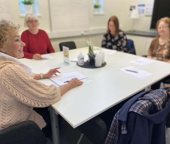 Studieförbundet Vuxenskolan, shared reading
