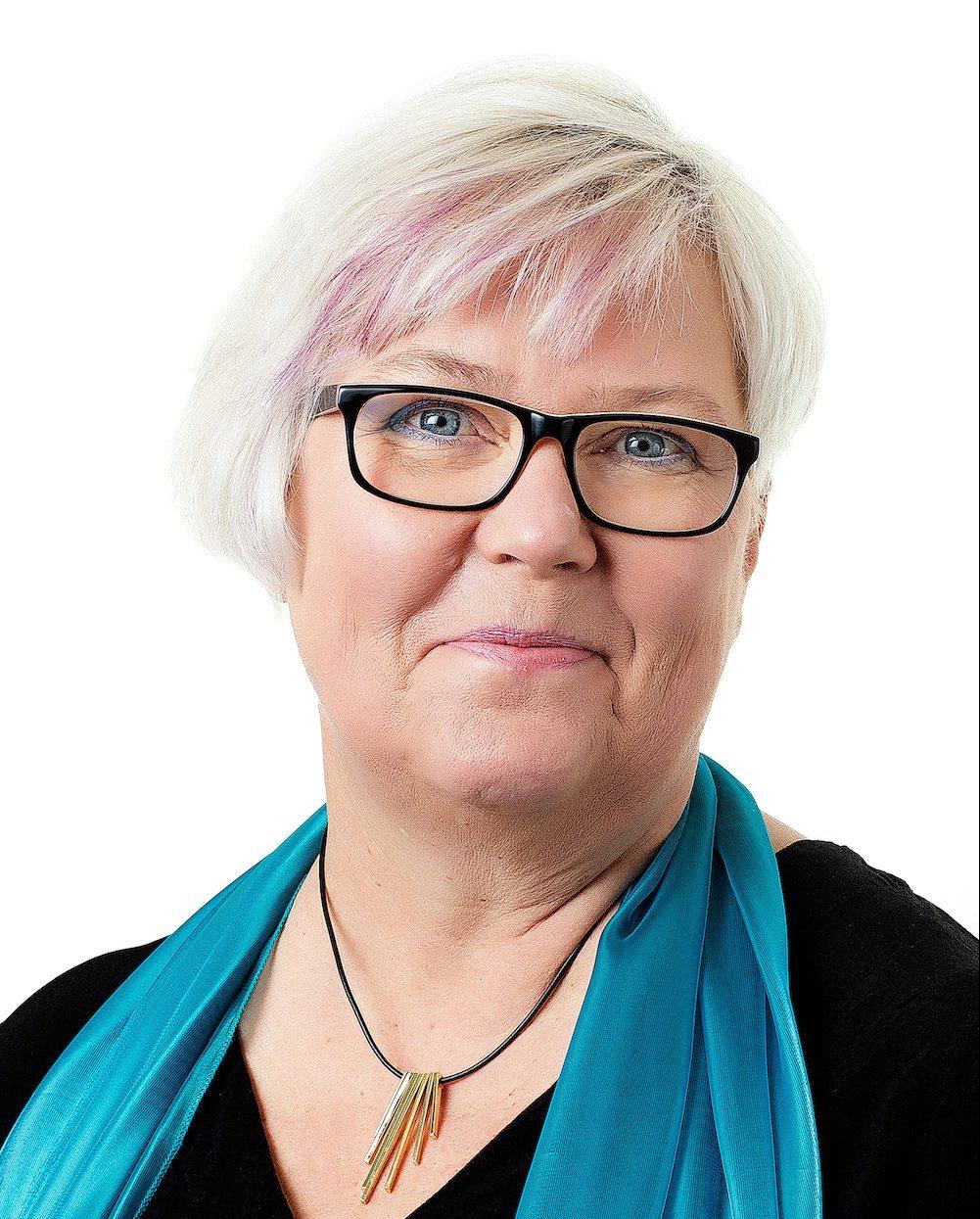 Tina Norgren Förbundsordförande Psoriasisförbundet