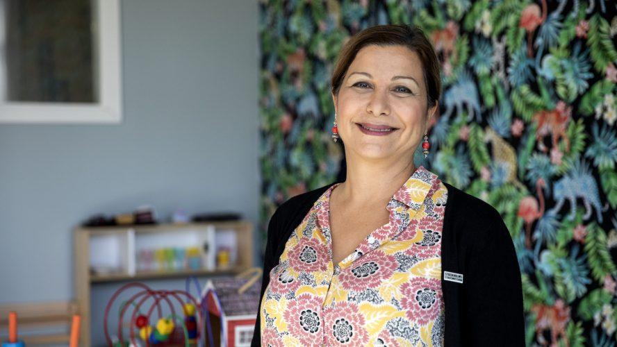 Wafa Issa, Verksamhetschef barn och unga Stockholms Stadsmission. Foto: Anna Ek