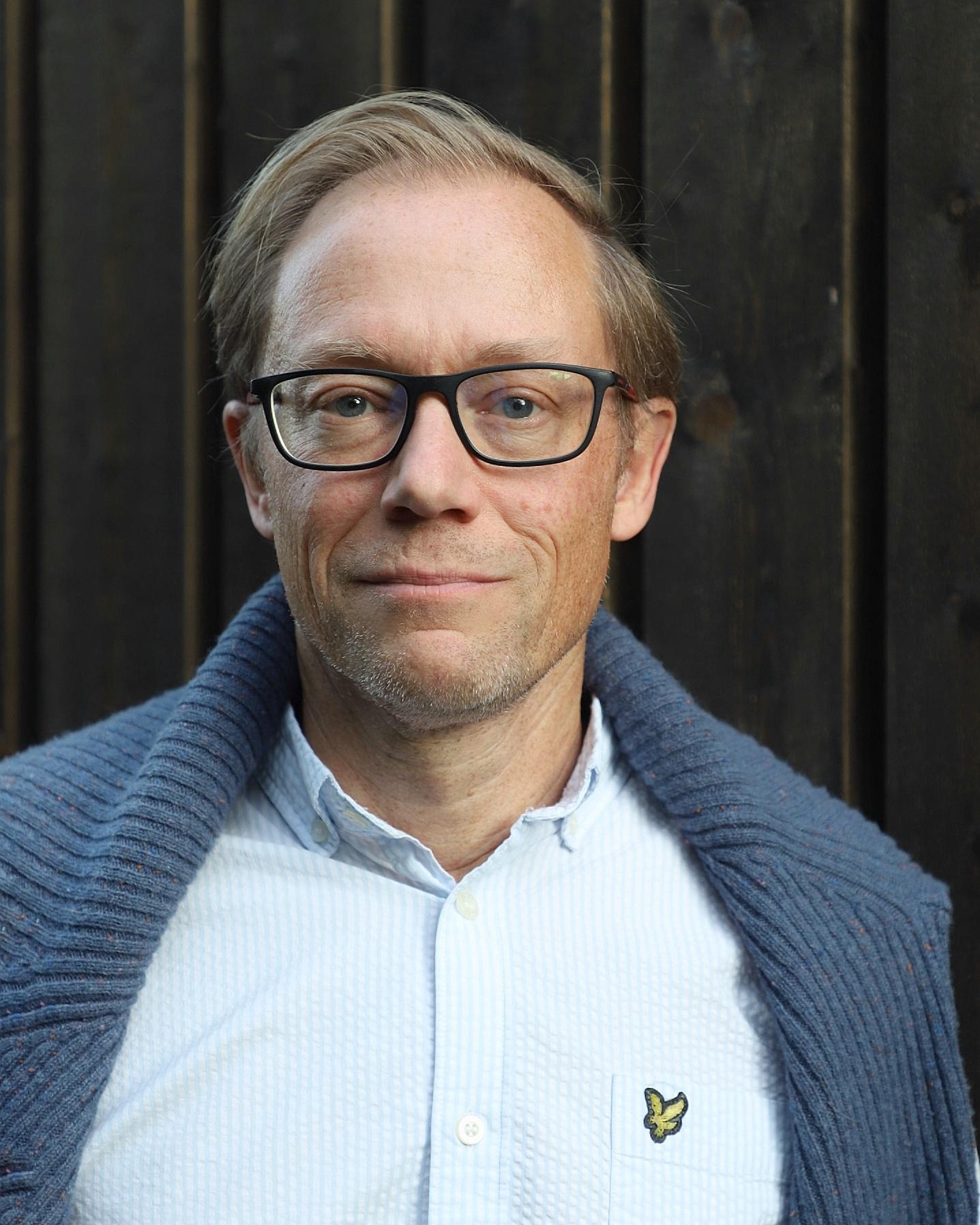 Andreas Sonesson överläkare vid kliniken för dermatologi och venereologi vid Skånes Universitetsjukhus